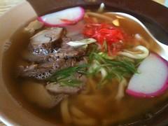 Okinawa Soba at Maneki Neko