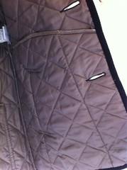 ラベンハムのキルティングジャケット(デンストン)