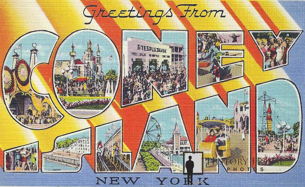 Gallery history house photos greetings from coney island a stylefont size08em m4hsunfo
