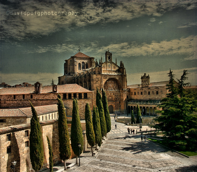Convento de San Esteban, Salamanca  Flickr - Photo Sharing!