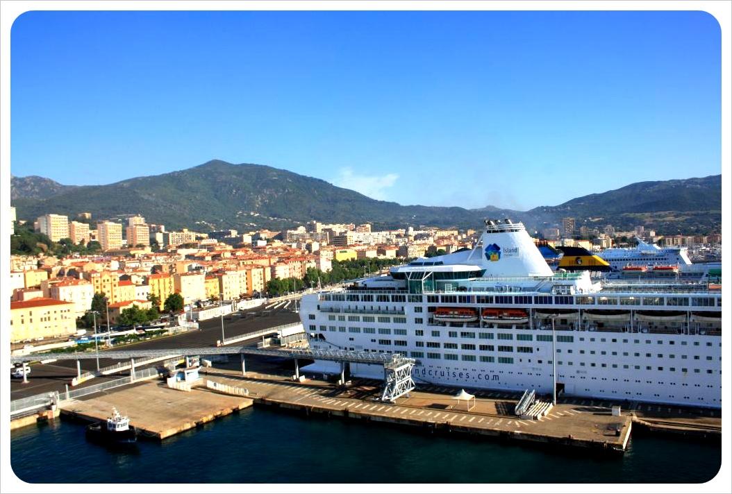 ajaccio & cruise ships
