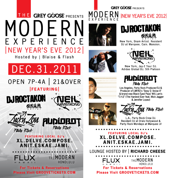 The modern experience 2012