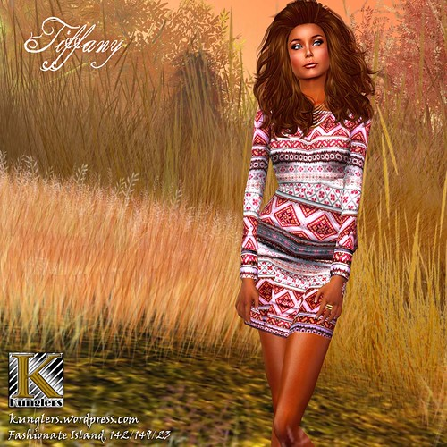 (Kunglers) Tiffany dress - Red, 299 lindens by Cherokeeh Asteria