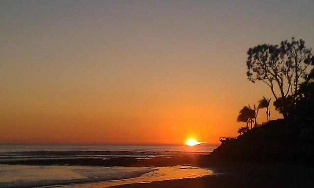 the land of eternal sunset