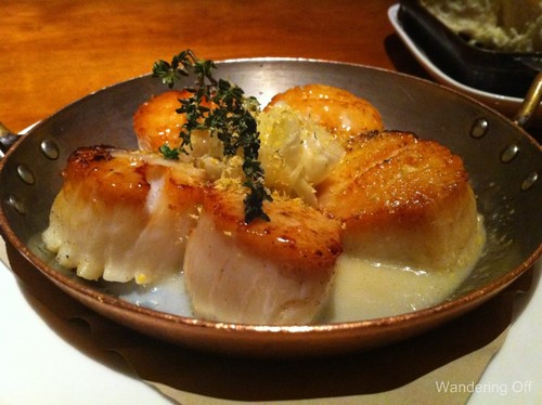 Scallops at Craftsteak, Las Vegas