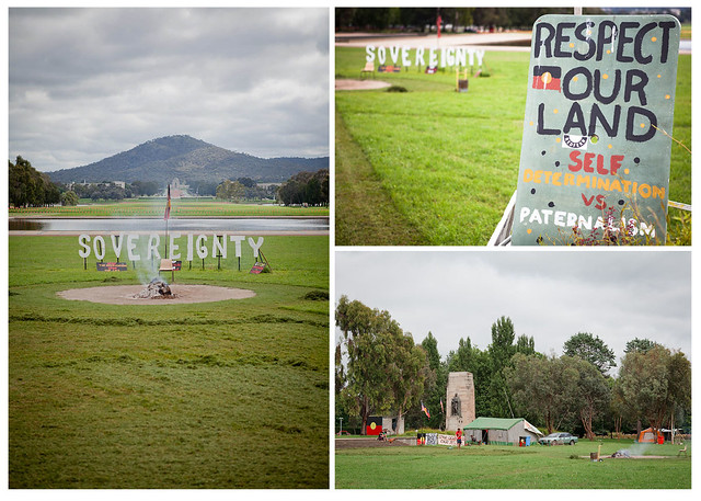 Aboriginal Tent Embassy, Canberra, Australia