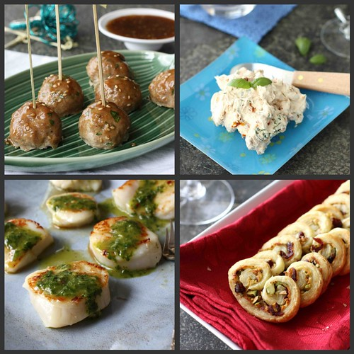 Cookin 39 canuck new year 39 s eve recipes appetizers hors for New year s eve hors d oeuvres recipes