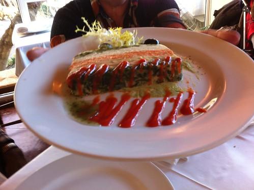 Olot | Restaurant La Deu | Pastel de verduras