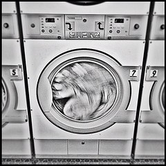 monochrome photography, electronics, clothes dryer, monochrome, black-and-white, major appliance, washing machine,