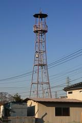 菅谷の火の見櫓(上尾市)