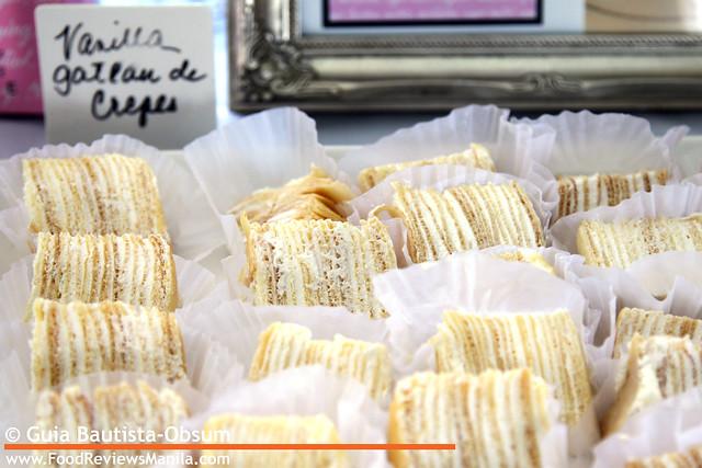 DCF Dessert Du Jour Vanilla Gateau de Crepes