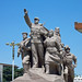 Skulptur an Maos Mausoleum