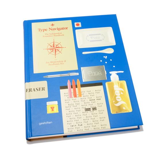 Type Navigator, Editors: Jan Middendorp, TwoPoints.Net, Publisher: Gestalten