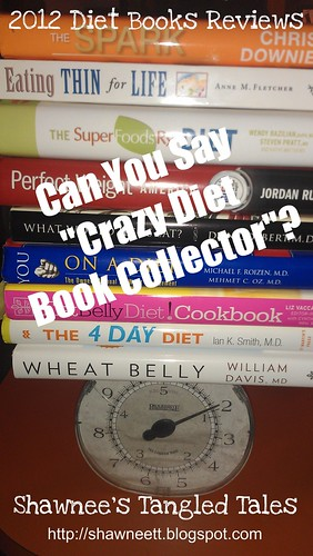 Diet book review badge