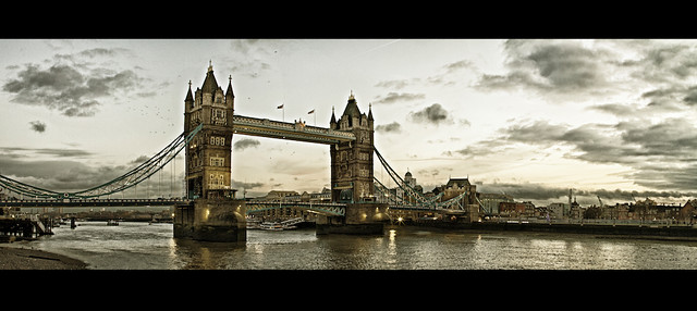 355/365: The Tower Bridge At Sunset