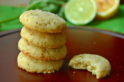 Citrus Basil Butter Cookies | The Apron Archives