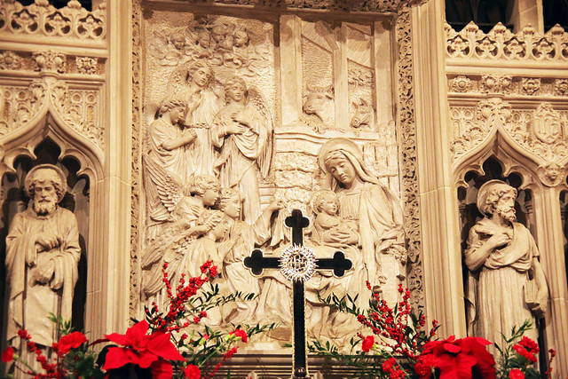 Altar 01 - Bethlehem Chapel - National Cathedral - DC
