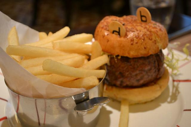 The Original db Burger, db Bistro Moderne, Singapore