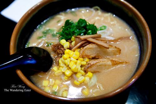 Kome Miso Ramen (Hokkaido style)