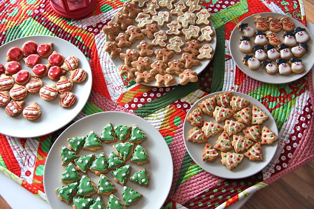 my Christmas cookies - I