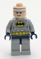 6858 Capeless Batman is not Amused