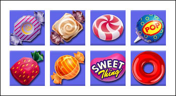 free Sweet Thing slot game symbols