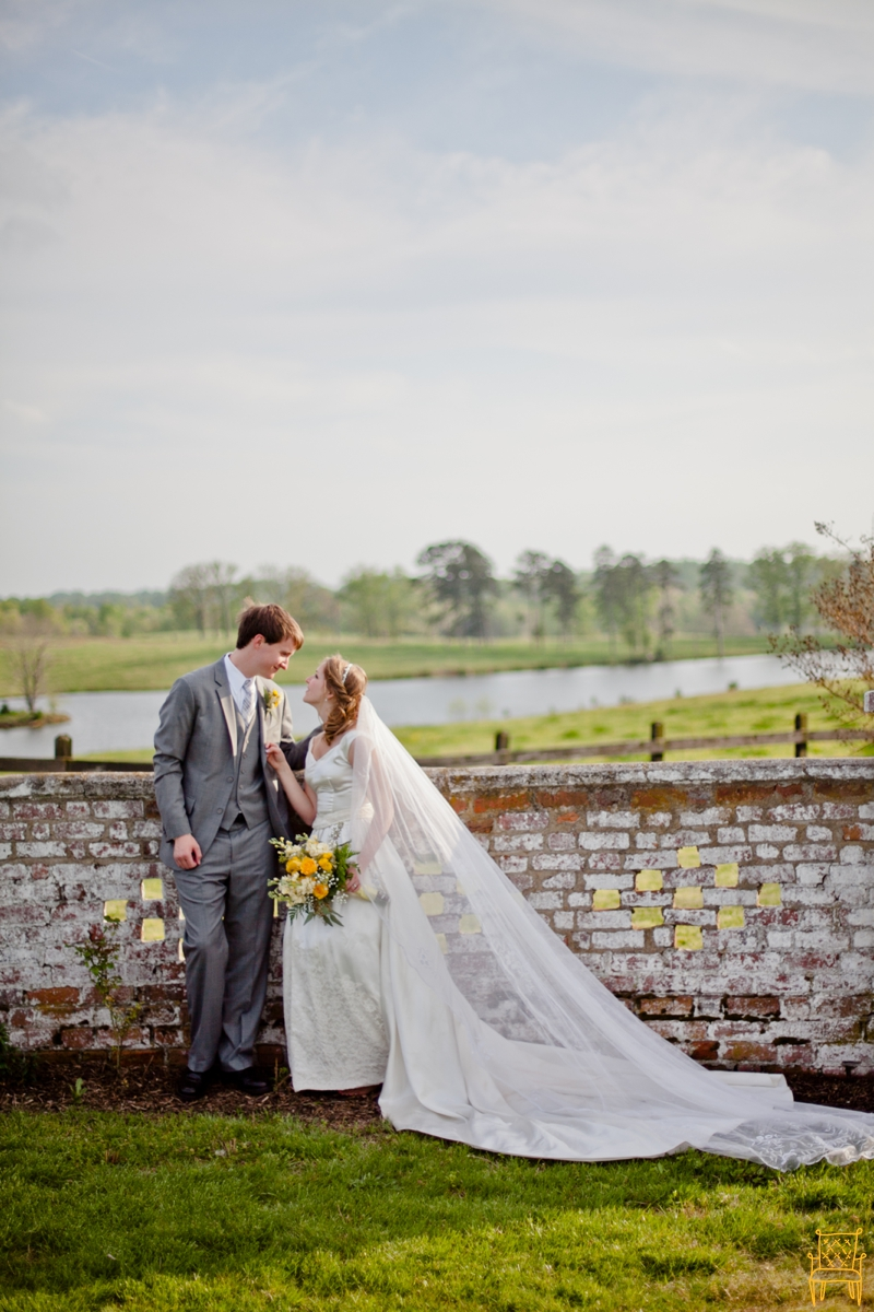 gray and yellow outdoor vintage wedding_063