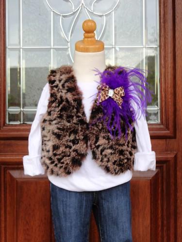 Diva likes Luxe faux fur vest