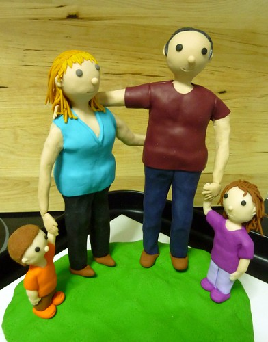 Familia A en arcilla polimérica