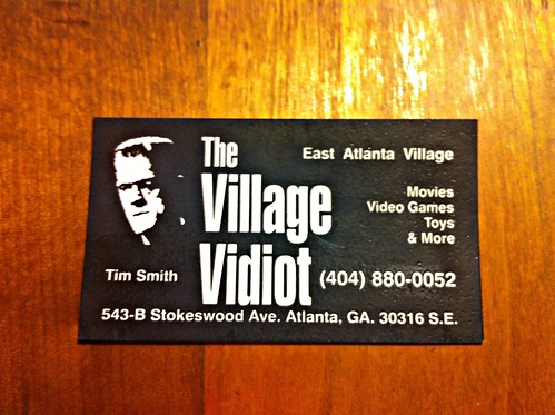 Village Vidiot Business Card