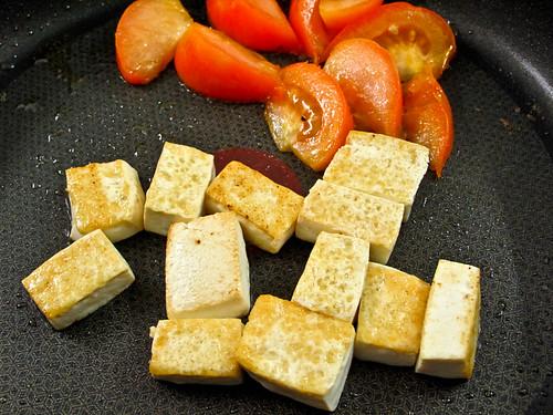 IMG_0927 番茄和豆腐,tofu and tomato