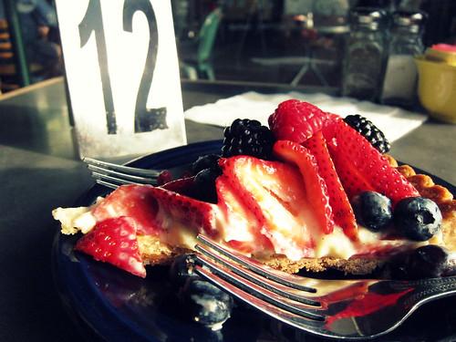 Dessert first. Day 2