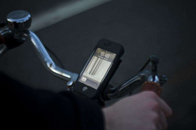 Spitzel iPhone Holder for Bicycles