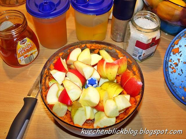 Apfel Möhren Salat