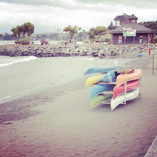 Kayaks en Llanquihue