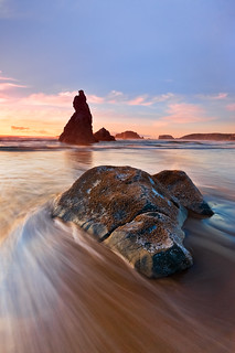 Sinking Dog Rock, Bandon, Oregon