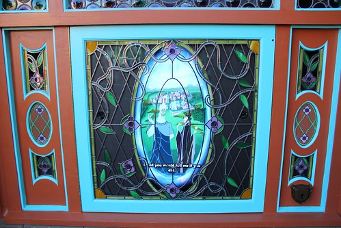 Hades and Maleficent - Fantasyland portal