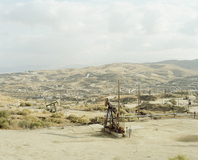 Oil Field, Taft, California. 2011