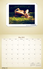 ADIDAP Calendar 2012 US Retro May