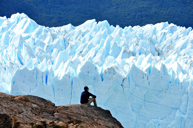 The immensity of the Nature. Perito Moreno