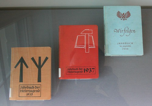 Three Hitler Youth handbooks