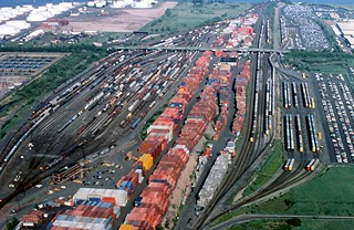 19990705 07a  RR Yard and Intermodal Terminal, New Jersey