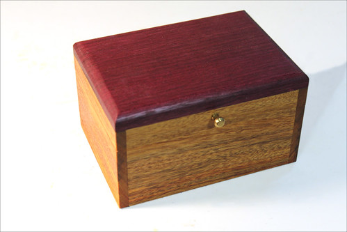 Canarywood Box - closed