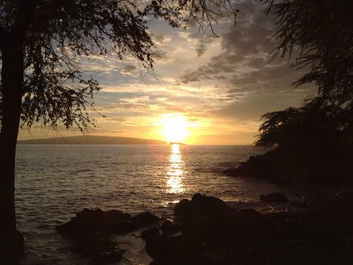 Sunset over Kahoolawe