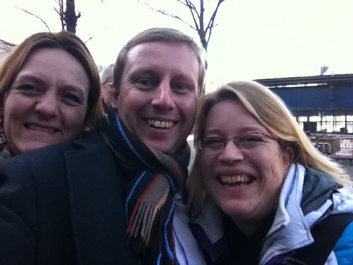 Lunch in The Hague with former high school class mates Nuria and Margreet