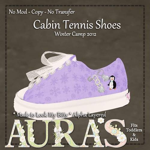 Cabin 6 Tennis Shoe Ad by Aura Milev