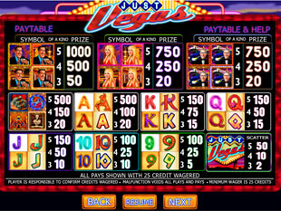 free Just Vegas Slots payout