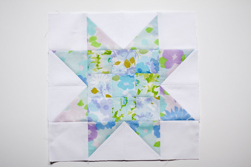Patchwork Star Block Tutorial by jenib320