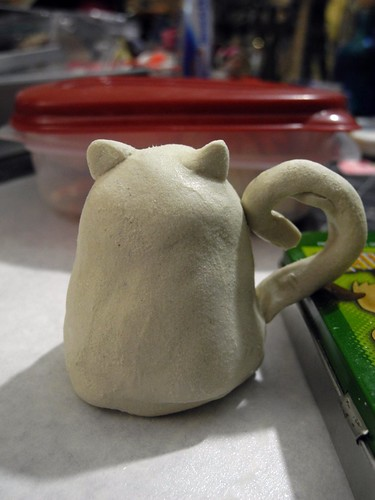Cheshire Cat Sculpt in progress