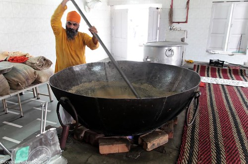 Making huge batches of halwa